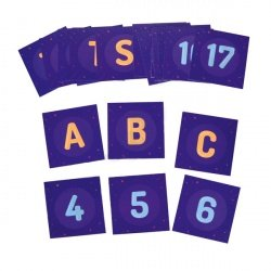 Set of Flashcards for Photon - alphabet and numbers