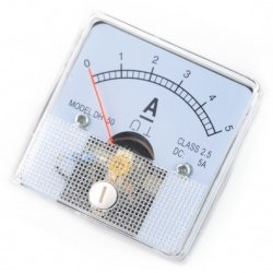 Analog ammeter - panel DH-50 - 5A