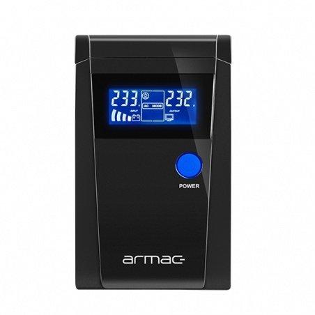 Uninterruptible power supply UPS Armac PSW 850F LCD - 2 x