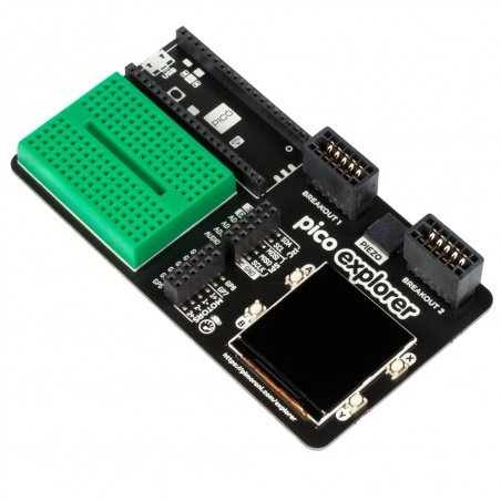 Pico Explorer Base - extension board for Raspberry Pi Pico -