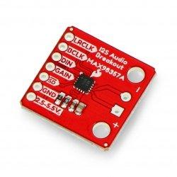 MAX98357A decoder stereo...
