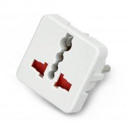 PL plug - universal white...