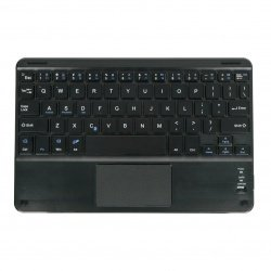 """Wireless keyboard with touchpad - black 10"""" - Bluetooth 3.0"""