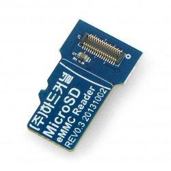 Odroid eMMC memory reader microSD - for updating software