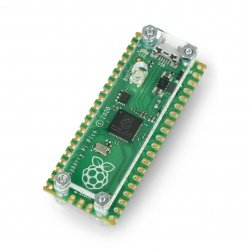 Case for Raspberry Pi Pico open - transparent