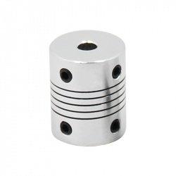 Flexible coupling aluminum 5x8mm