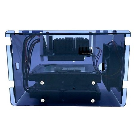 Case for Odroid H2 with hard drive installation and H2 Net Card