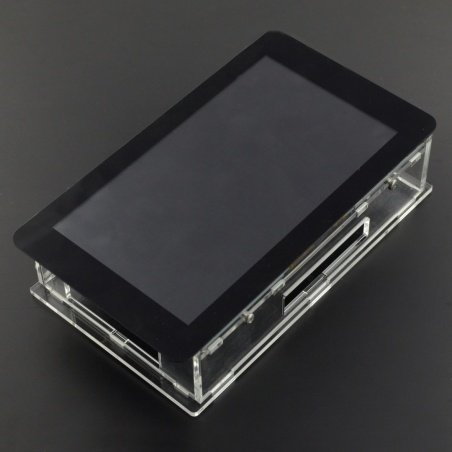 "Case for Raspberry Pi and dedicated 7 ""touch screen -"