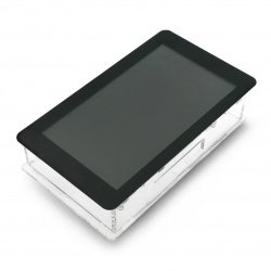 """Case for Raspberry Pi and dedicated 7 """"touch screen -"""