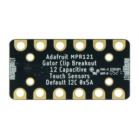 MPR121 - Gator Breakout touch sensor - 12-channel - capacitive