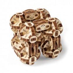 Spherical cube - Flexi-Cubus - mechanical assembly model -