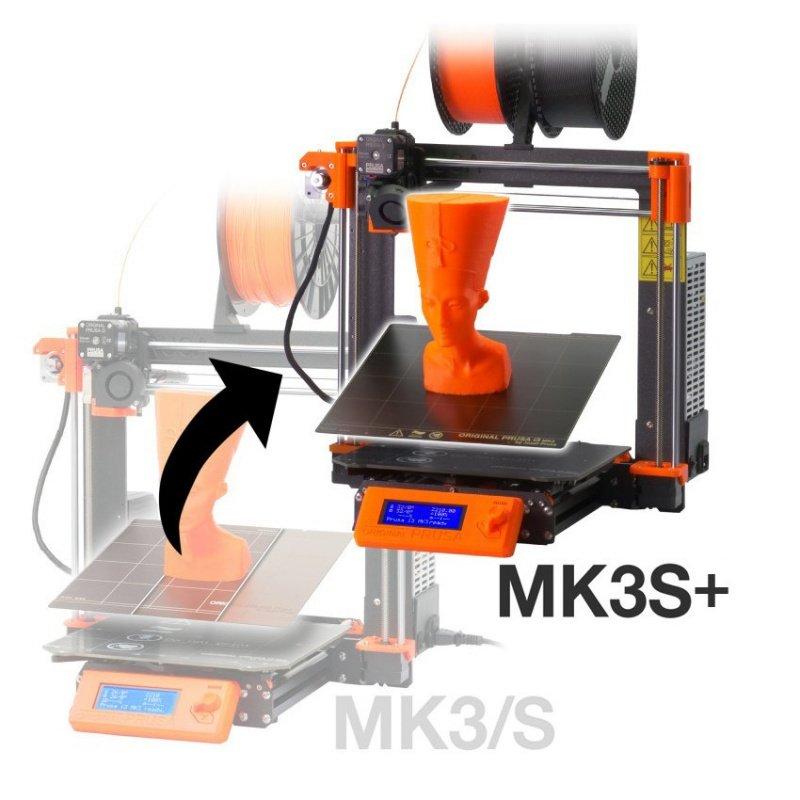 MK3S+ upgrade kit for printer Original Prusa i3 MK3/S - set for
