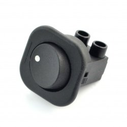On-Off Switch RS-101-7C (T-120) - 250V/6A - black