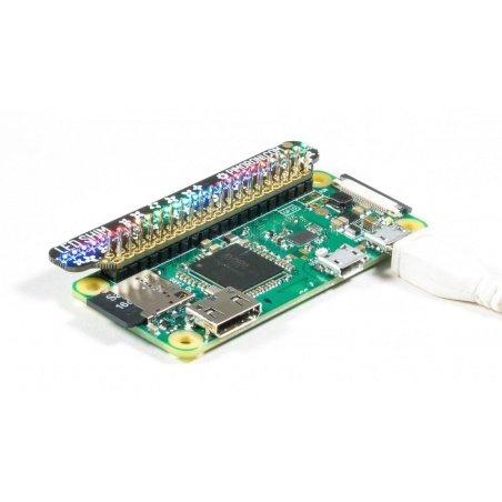 LED SHIM - 28 LED RGB - pHAT for Raspberry Pi - Pimoroni PIM354
