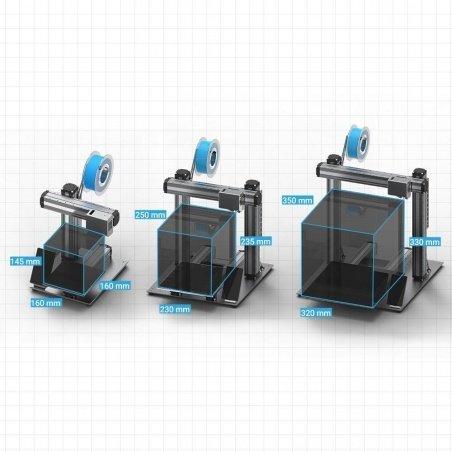 Drukarka 3D Snapmaker v2.0 3w1 model A250 - moduł lasera, CNC