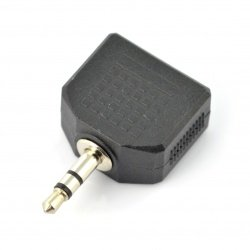 Jack 4-pin 3,5mm - 2x Jack...