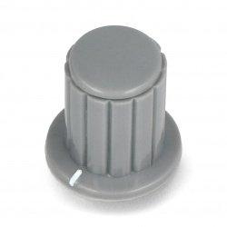 Potentiometer knob gray -...