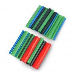Set of heat-shrink tubes...