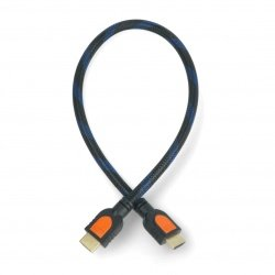 HDMI cable - black braided...