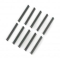 Male strip 2x15 pin -...