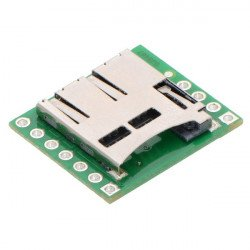 MicroSD card reader module - Pololu 2597