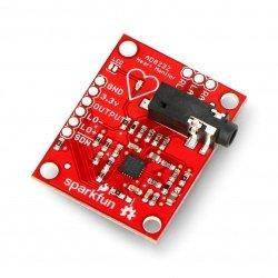 Sensor for measuring heart...