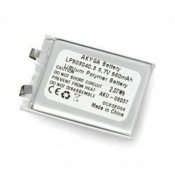 Akyga Li-Pol cell 560mAh 1S...