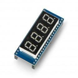 4x 8-segment display module...