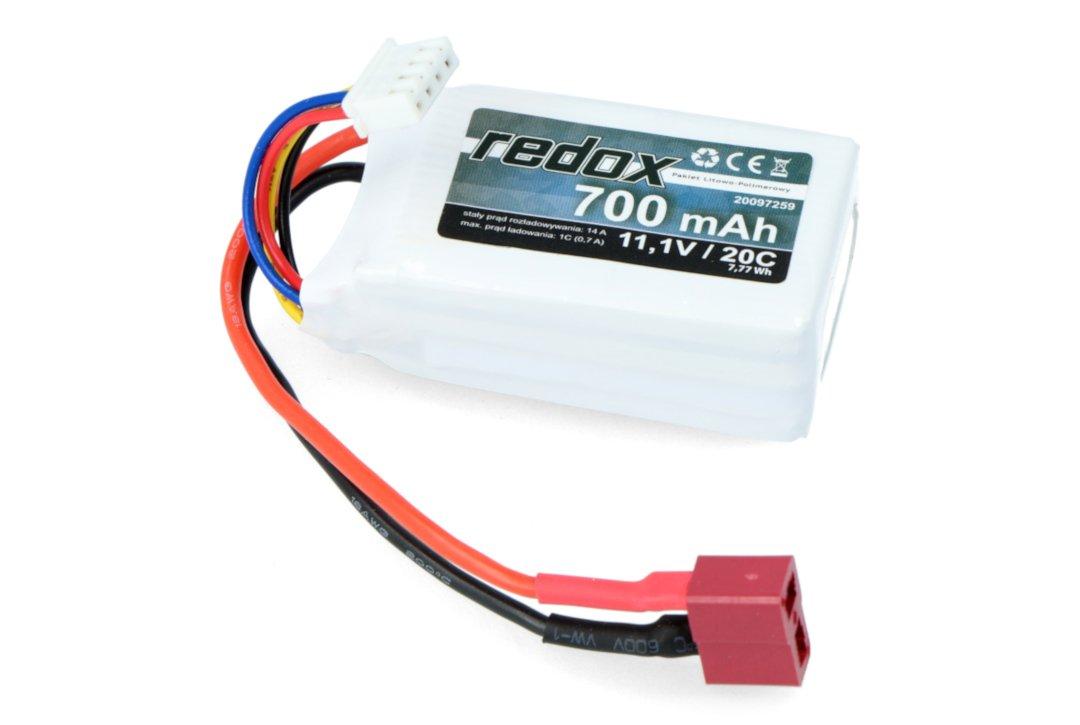 Pakiet Li-Pol Redox 700 mAh