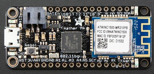 Adafruit Feather M0 WiFi 32-bit, arduino, moduł,kontroler,