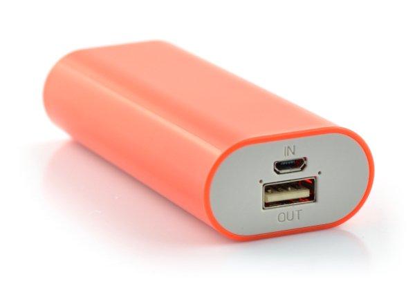 Mobilna bateria PowerBank Esperanza Hadron EMP105R 4400mAh czerwona