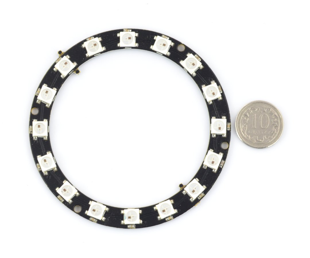 LED RGB Ring WS2812 5050 x 24 diodes - 68mm