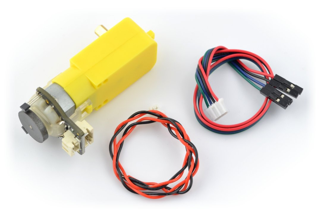 Micro DC Geared Motor w/Encoder-SJ01 (6V 160RPM 120:1)