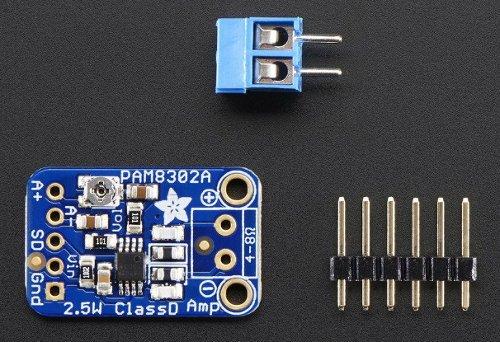 Wzmacniacz audio mono PAM8302 - Adafruit
