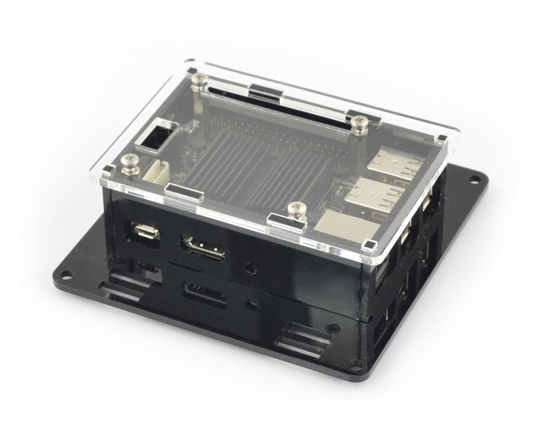Obudowa do Odroid C2 - VESA do montażu na monitor