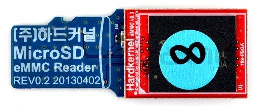 eMMC 8GB Linux dla Odroid XU4