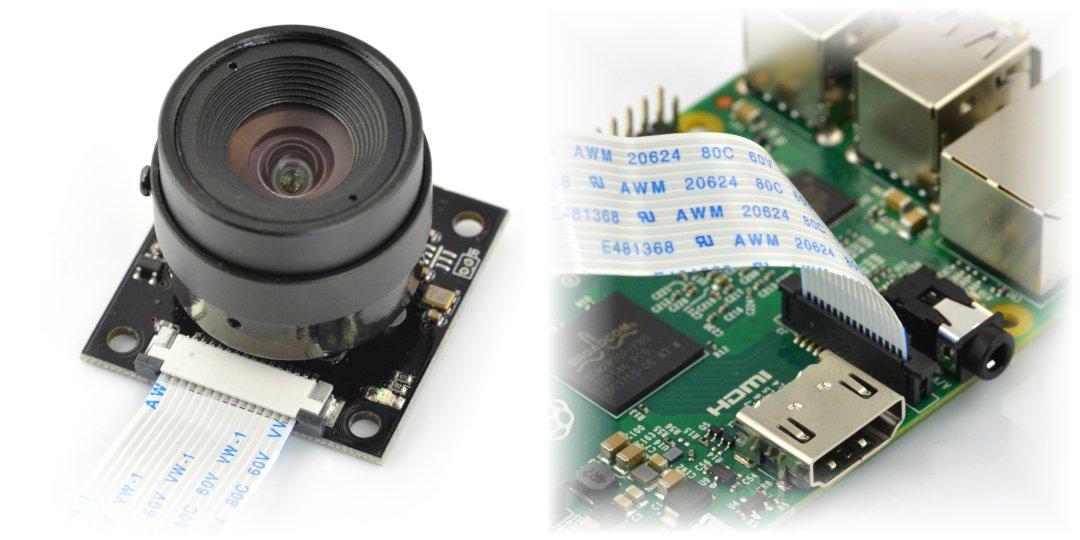 Kamera nocna ArduCam z obiektywem LS-2716 CS mount
