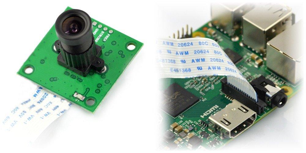 ArduCam z obiektywem HX-27227 - dla Raspberry Pi