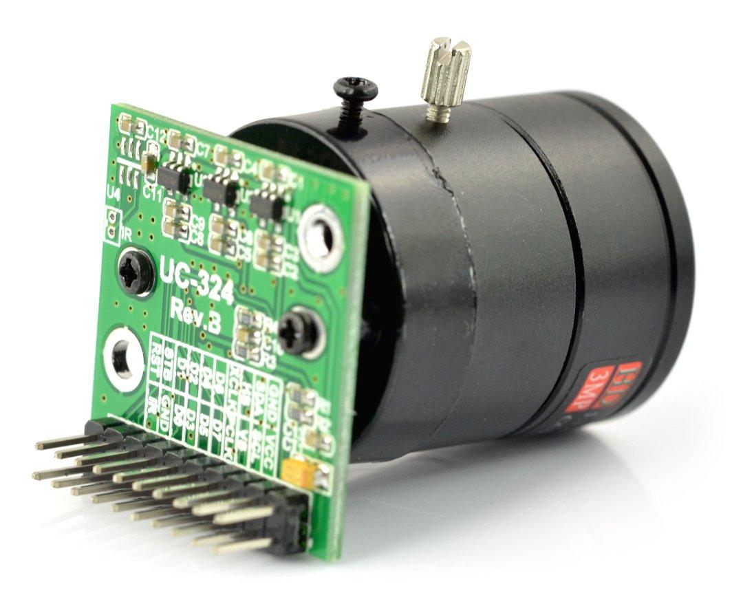 ArduCam MT9D111 2MPx JPEG