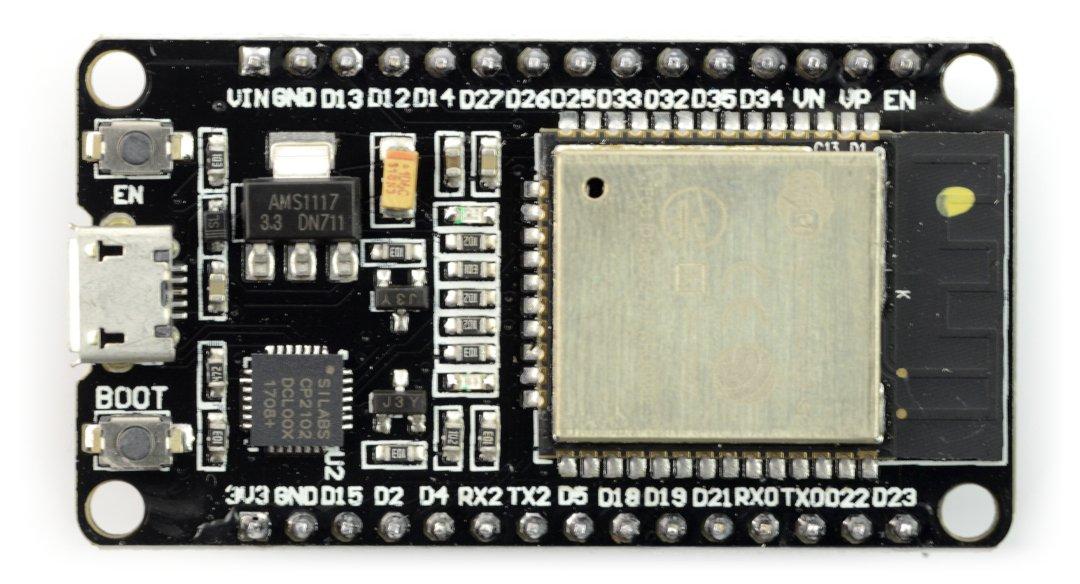 ESP32-DevKit ESP-WROOM-32 WiFi + BT 4.2