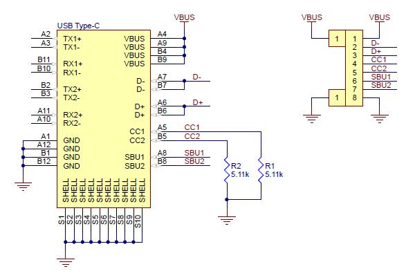 USB-C 2.0 8-pinowy