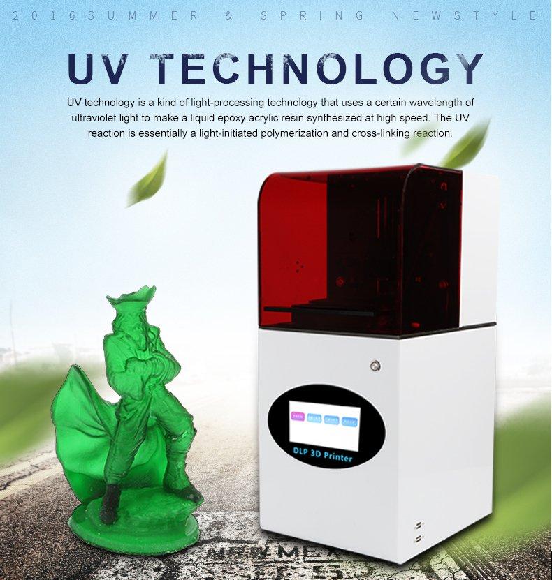 Technologia UV w drukarce Creality DP-002