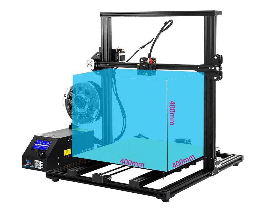 Creality CR-10S4 drukarka 3D z wyświetlaczem