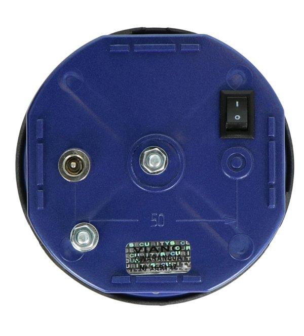 Odstraszacz zasilany jest przy wykorzystaniu dołączonego zasilacza sieciowego 12 V.