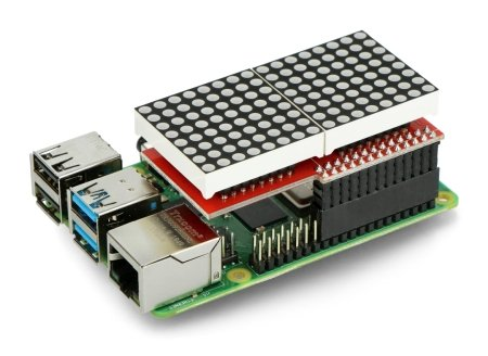 Nakładka z Raspberry Pi