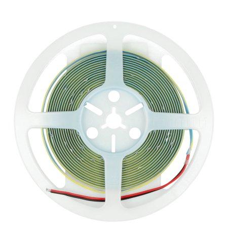 Pasek LED SMD2835 COB 12V IP20 10W, 384diod/m, barwa biała naturalna - 5m