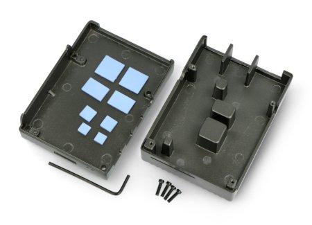 Zestaw zawiera klucz imbusowy i śrubki montażowe.
