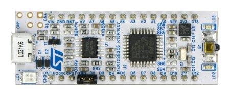 STM32 NUCLEO-32 L031K6 - z MCU STM32L031K6.