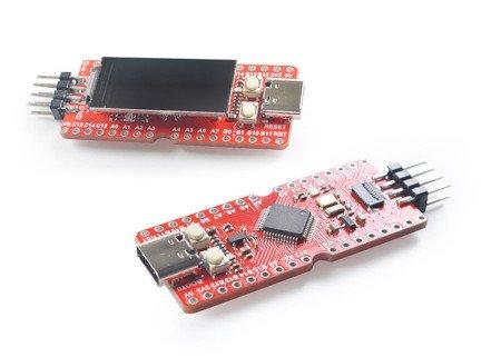 Sipeed Longan Nano zawiera także wyświetlacz LCD i przekątnej 0,96