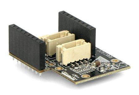 Rozszerzenie WisBlock IO do systemu WisBlock.